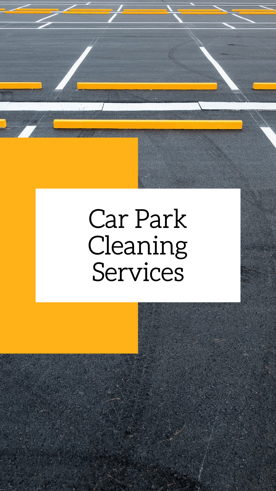 Car Park Cleaning and Line Marking