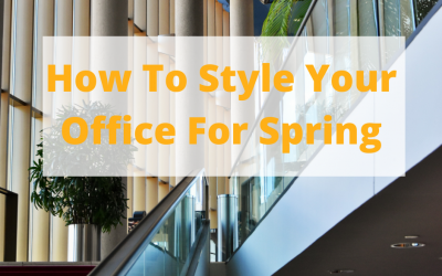 How To Style Your Office For Spring