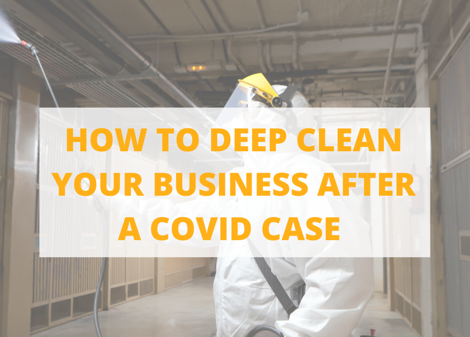 What Happens Once a Business Has Come in Contact With COVID-19?